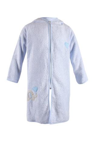 Dětský župan Blue Kids modrý slon