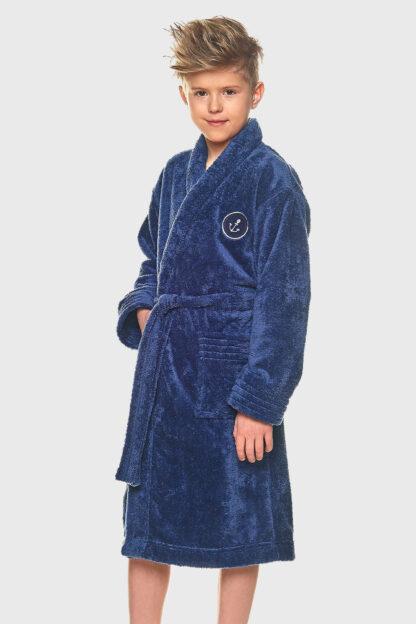 Chlapecký župan Elegant modrý